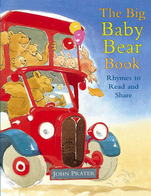 The Big Baby Bear Book by John Prater image