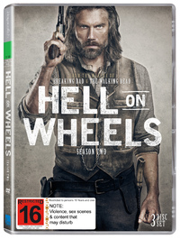 Hell on Wheels - Season Two on DVD