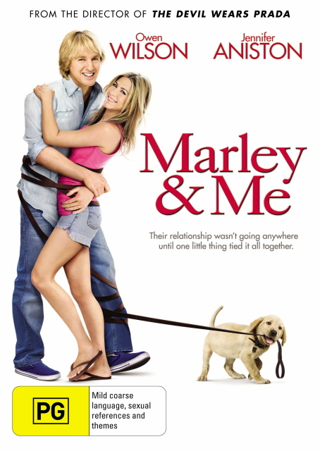 Marley & Me on DVD
