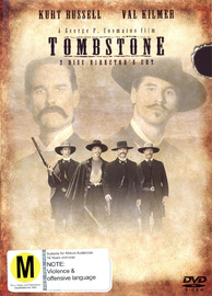 Tombstone - Director's Cut (2 Disc Set) on DVD