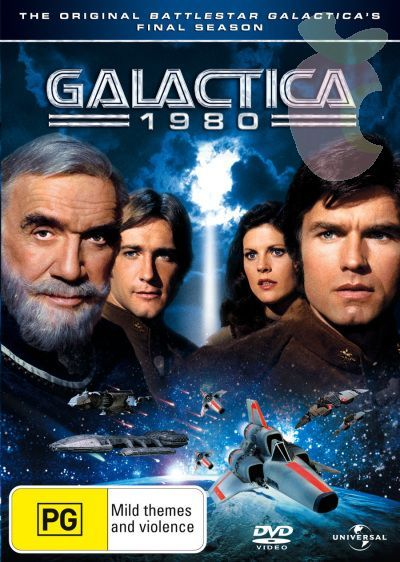 Galactica 1980 (2 Disc Set) on DVD image