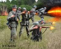 Revell German Infantry WWII 1/32 Model Kit