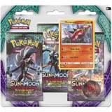 Pokemon TCG Sun & Moon Guardians Rising 3 Pack Blister: Turtonator
