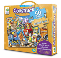 The Learning Journey: Jumbo Floor Puzzle - Construction