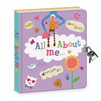 Peaceable Kingdom: Lockable Diary - All About Me