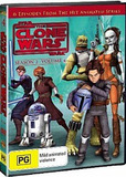 Star Wars: The Clone Wars: Season 2 - Volume 4 on DVD