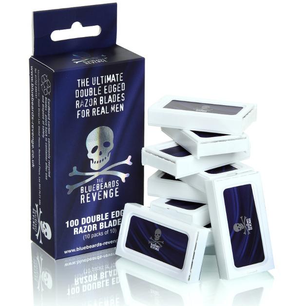 Bluebeards Revenge - Safety Razor Blades (10 Packs of 10)