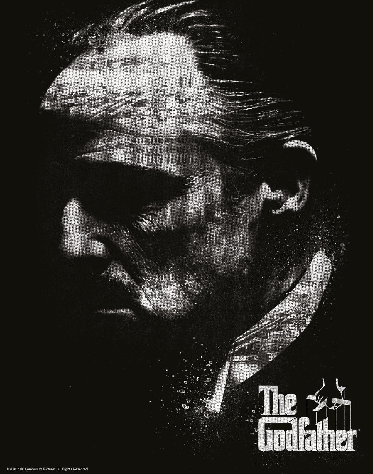 Godfather: Premium Art Print - Black & White image