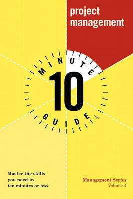10 Minute Guide to Project Management by Jeff Davidson image
