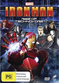 Iron Man: Rise of Technovore on DVD