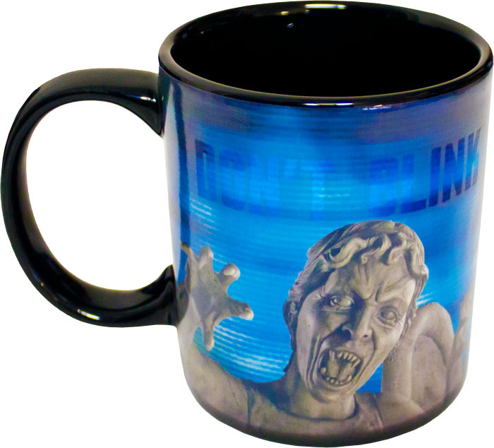 Doctor Who Weeping Angel Heat Changing Mug image