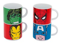 Marvel Comics - Stacking Ceramic Mug Set