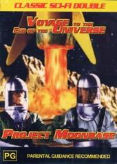 Voyage To The End Of The Universe/ Project Moonbase on DVD