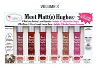The Balm - Meet Matt(e) Hughes Mini Lipsticks Vol 3