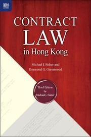 Contract Law in Hong Kong, Third Edition by Michael J. Fisher