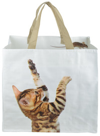 Shopping Bag - Cat And Mouse
