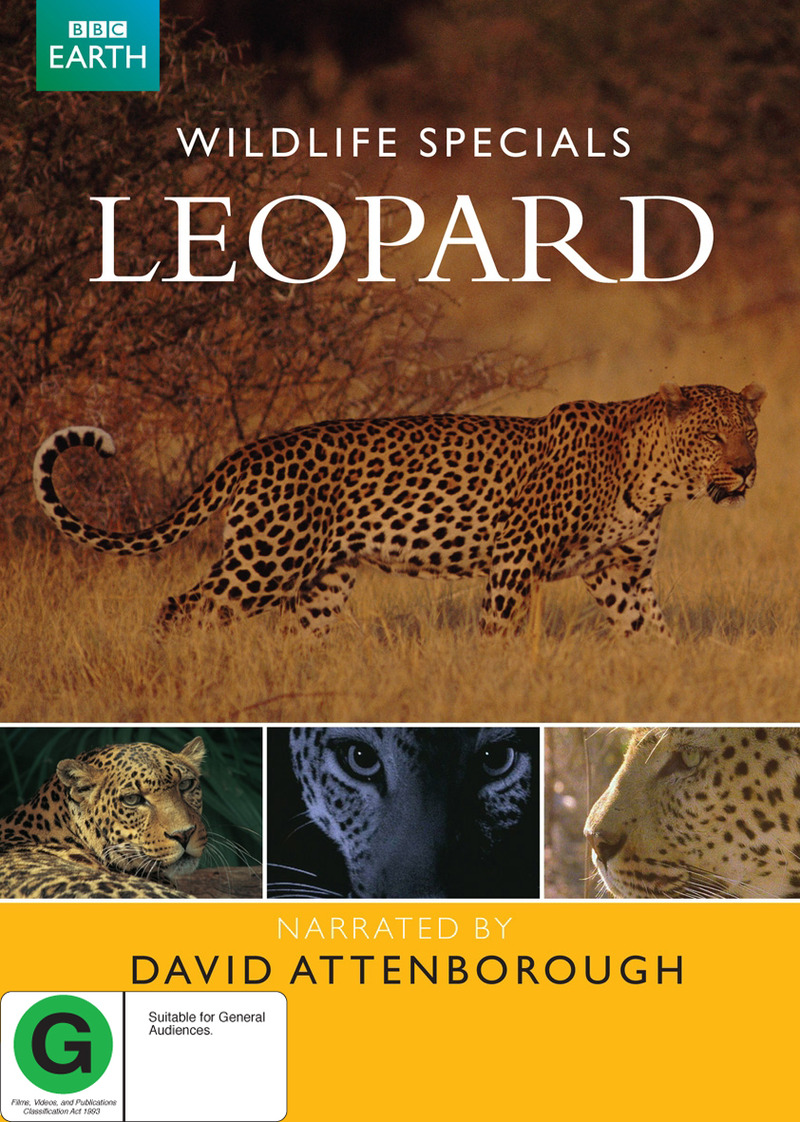 Wildlife Specials - Leopard on DVD image