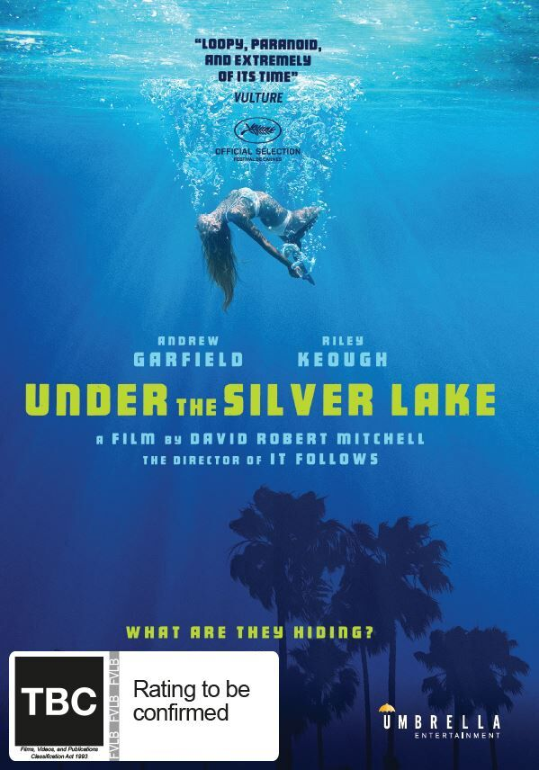 Under the Silver Lake on DVD image