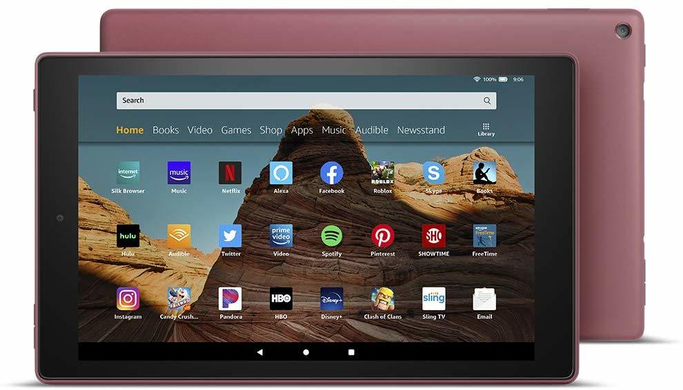 "Amazon: Fire HD 10 Tablet (10.1"" / 2019 Model / 32GB) - Plum image"
