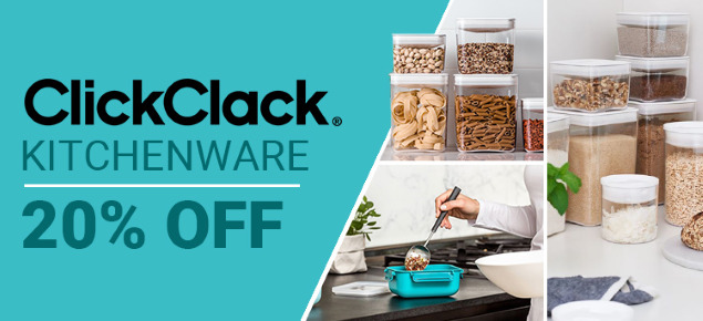 20% off ClickClack Kitchenware!