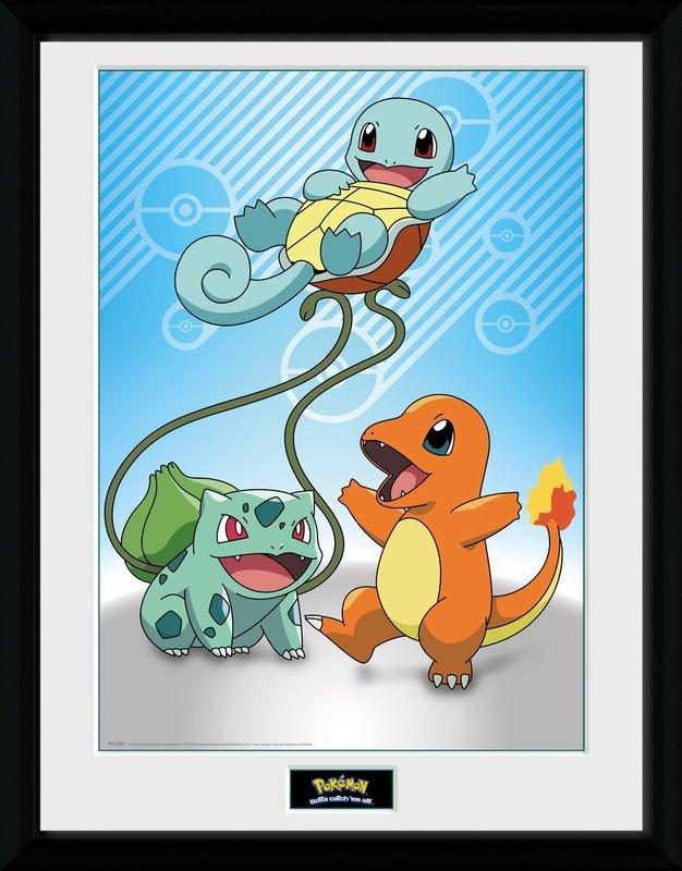 Pokemon: Kanto Starters (#2) - Collector Print (41x30.5cm)