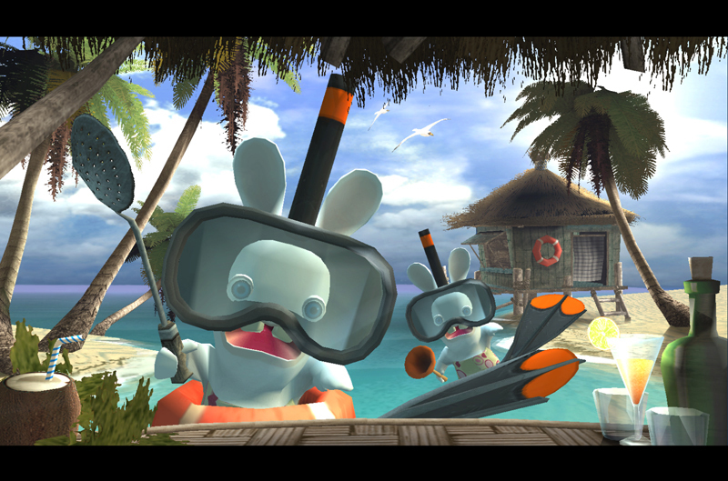 Rayman: Raving Rabbids for Xbox 360 image