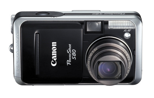 Canon Digital Camera Powershot 8.0MP S80
