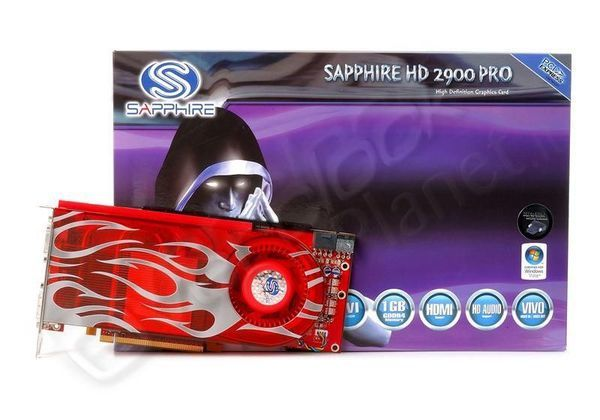 Sapphire Radeon HD2900 Pro 512MB GDDR3 PCI-E Dual DVI / TV-Out