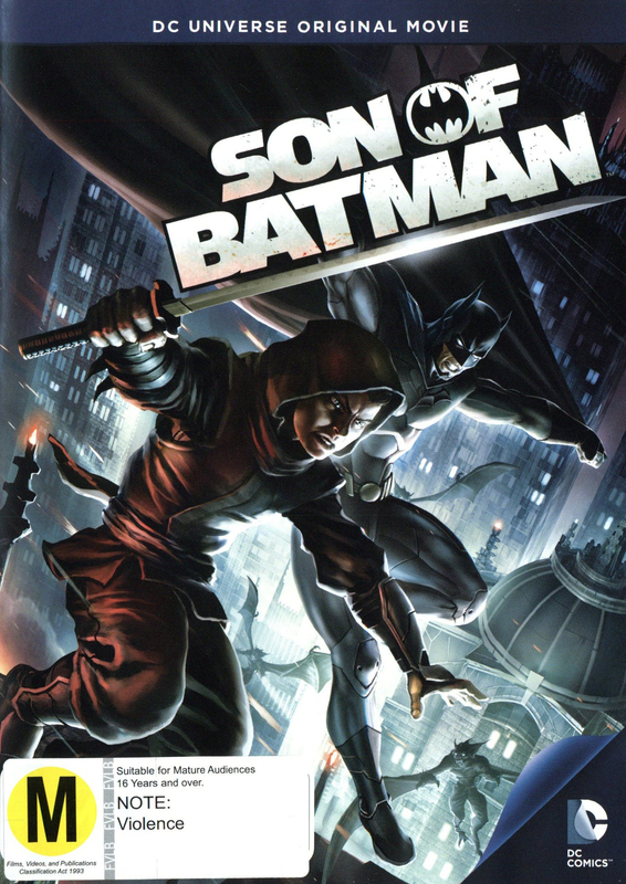 Batman: Son of Batman on DVD