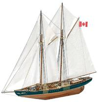 Bluenose II Wooden Ship Model Kit