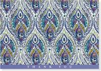Silk Road Thank You Notes (14 Cards/Envelopes)
