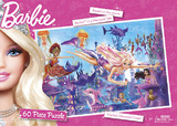 Barbie Mermaid 60pc Puzzle - Merliah Mermaid Chase
