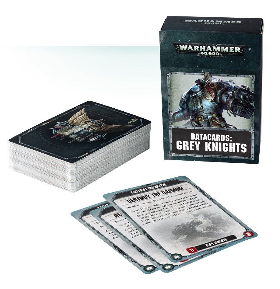 Warhammer 40,000 Datacards: Grey Knights image