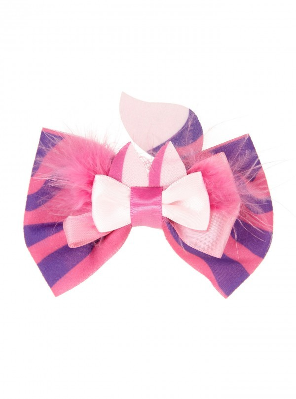 Neon Tuesday: Alice In Wonderland - Cheshire Cat Hair Bow image