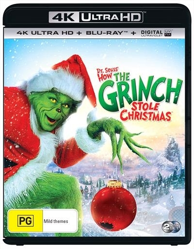 Dr Seuss': How The Grinch Stole Christmas on UHD Blu-ray image