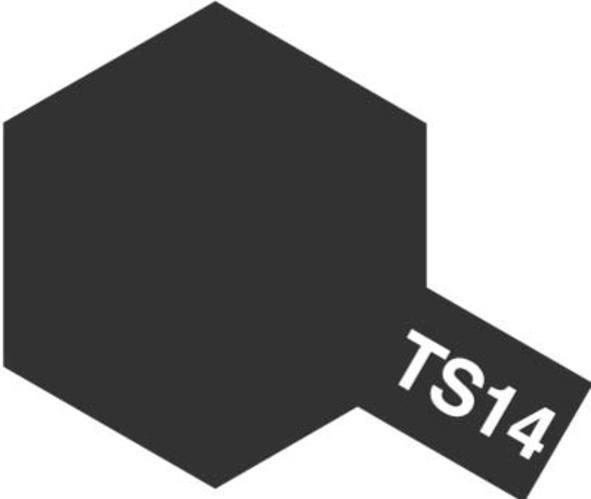 Tamiya TS-14 Gloss Black - 100ml Spray Can