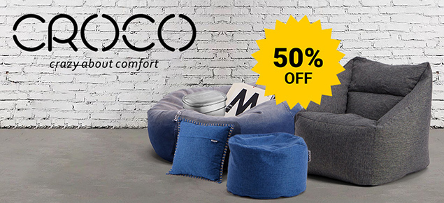 50% off Croco Beanbags!