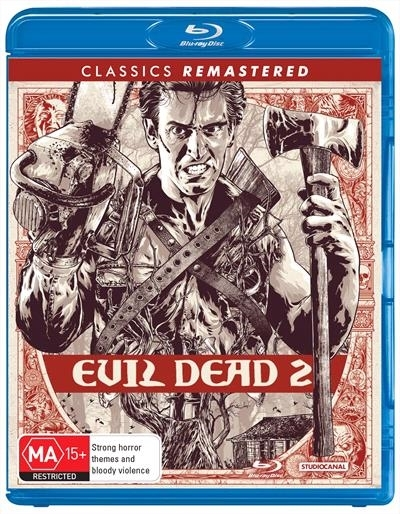 Evil Dead 2 on Blu-ray
