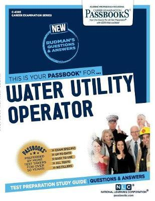 Water Utility Operator by National Learning Corporation