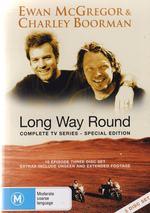 Long Way Round - Complete TV Series (3 Disc Set) on DVD