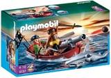 Playmobil - Pirates Rowboat with Shark (5137)