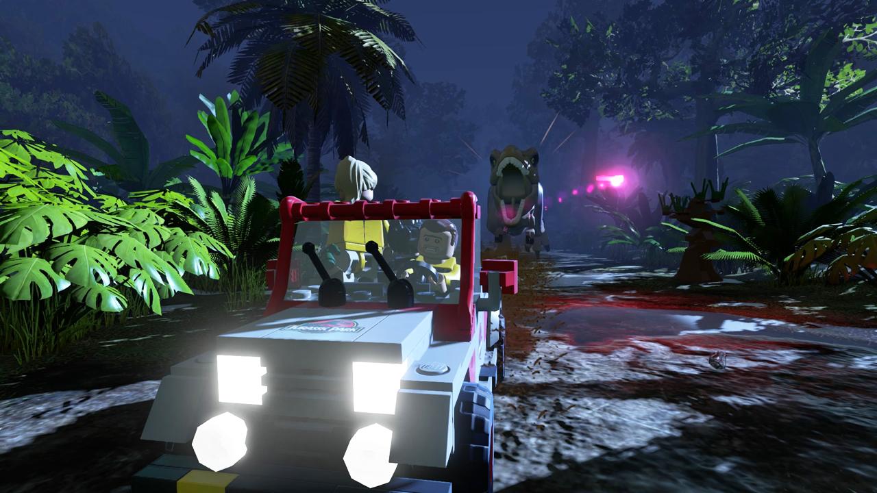 LEGO Jurassic World for Nintendo Wii U image