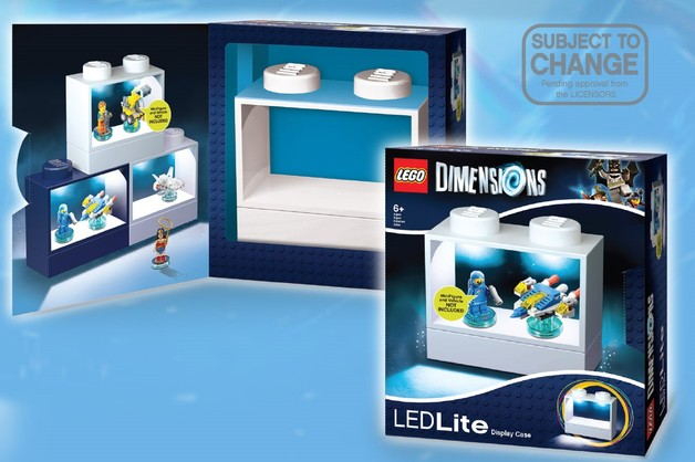 Exhibition Stand Lighting Australia : Lego dimensions display stand with lights white toy