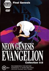 Neon Genesis Evangelion - Collection 0:8 on DVD