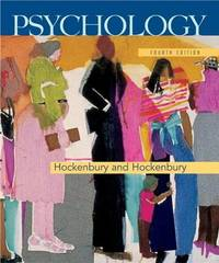 Psychology by Don H Hockenbury image