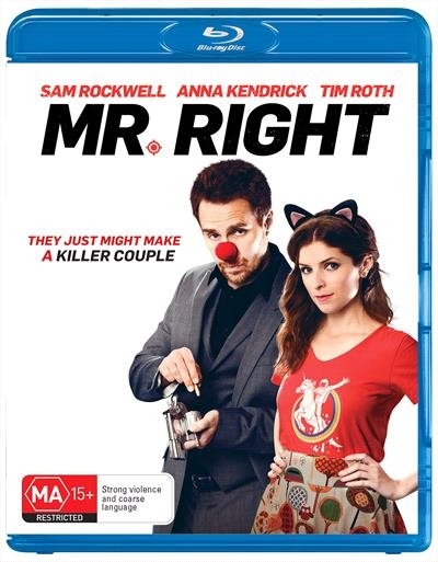 Mr Right on Blu-ray image
