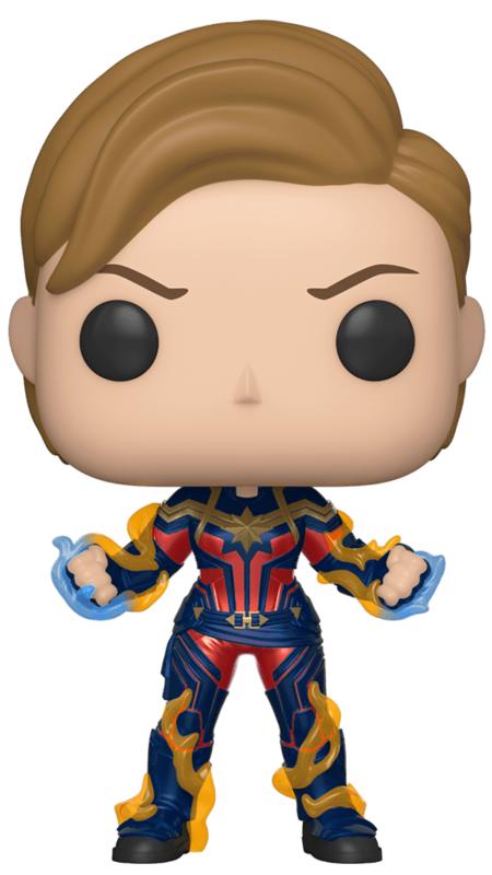 Avengers: Endgame - Captain Marvel (Short Hair) Pop! Vinyl Figure