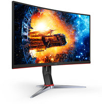 "27"" AOC 1920x1080 165Hz 1ms FreeSync Curved Gaming Monitor image"