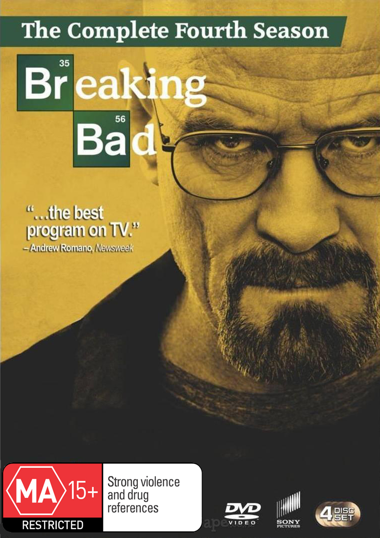 Breaking Bad - The Complete Fourth Season on DVD image