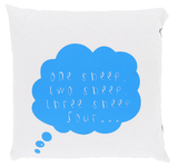 Home-Lee Reversible Cushion - Counting Sheep (Blue)